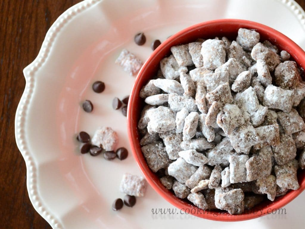 Easy Chocolate Muddy Buddies Cooking With Libby