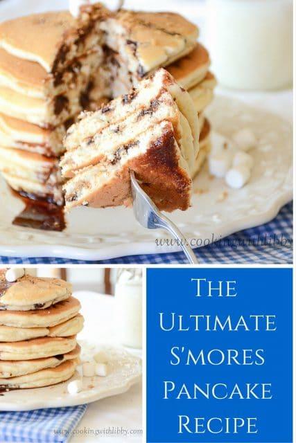 S'mores Pancakespin