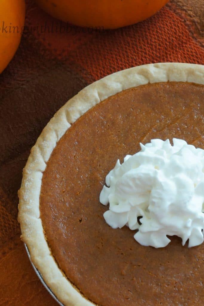 One whole Classic Pumpkin Pie