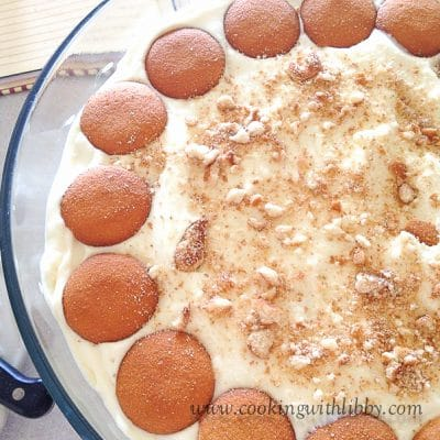 No Bake Banana Cream Pudding
