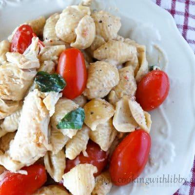 Creamy Tomato-Basil Chicken Pasta