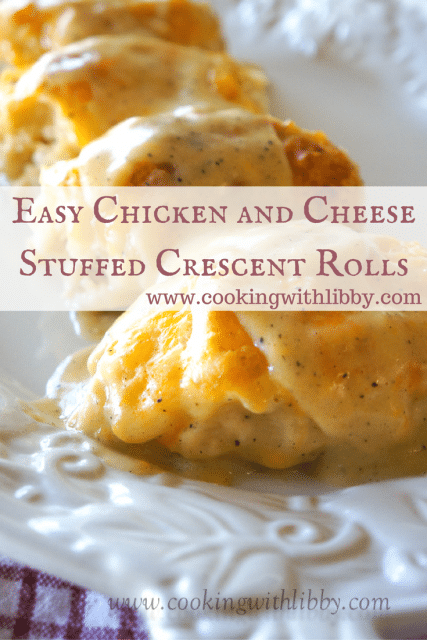 Easy Chicken And Cheese Stuffed Crescent Rolls Cooking With Libby