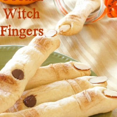 Sugar Cookie Witch Fingers {Halloween}