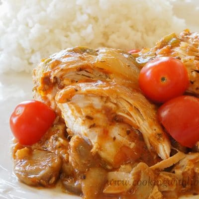 Slow Cooker Sicilian Chicken