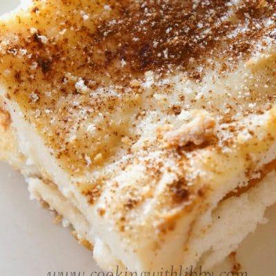 Cinnamon Custard Cake {Latiya}