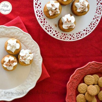 Gingerbread Cheesecake Treats