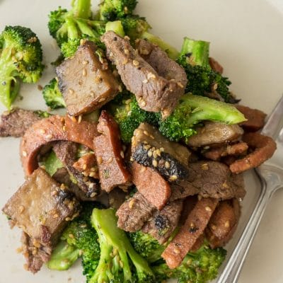 Quick and Easy Low Carb Stir Fry