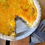 Simple and Delicious 30 Minute Breakfast Quiche