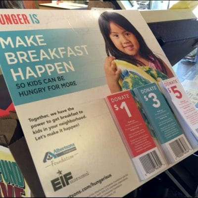 """The """"Hunger Is"""" Campaign and Albertsons"""