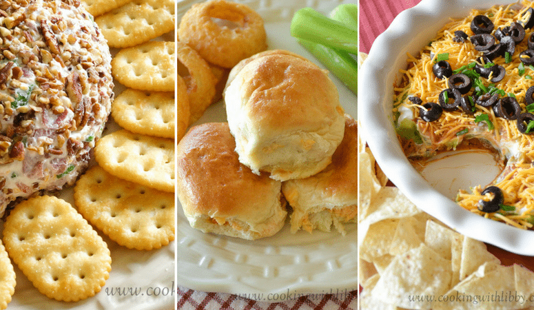 This collection of quick and easy appetizers are perfect for your next Super Bowl party!
