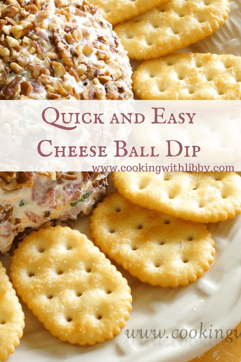 cheese ball dip
