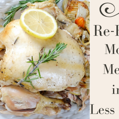 Re-Eats: More Meals in Less Time (An Introduction)