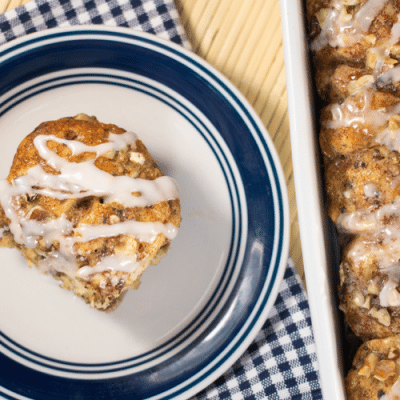 Amazingly Easy Holy Cow Cinnamon Roll Casserole