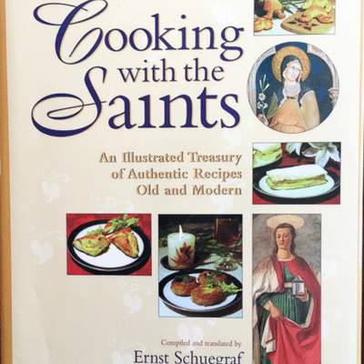 Filled with countless stories about the saints that grace Catholicism, Cooking with the Saints reads more like a textbook in history then a recipe book.
